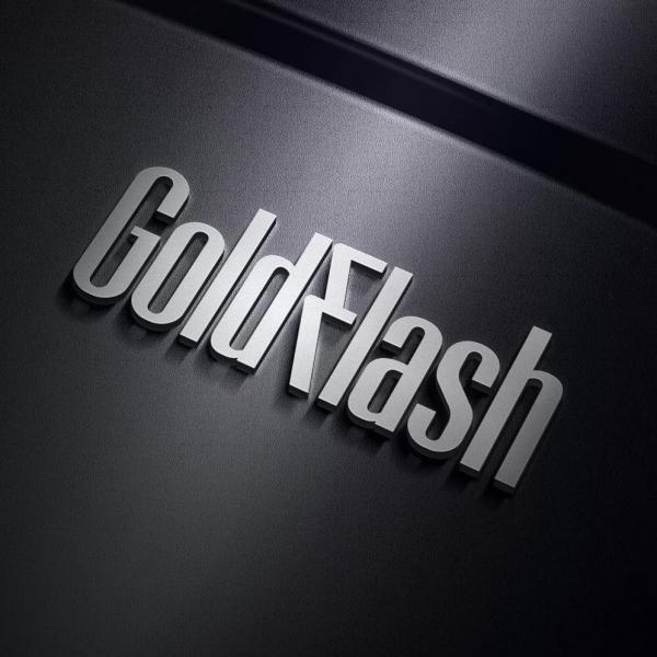 로고 + 간판 | GoldFlash | 라우드소싱 포트폴리오