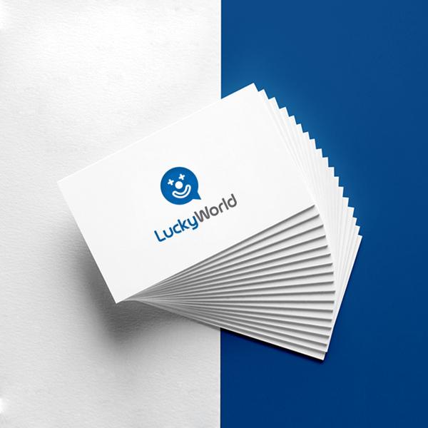 로고 디자인 | 럭키월드 | 라우드소싱 포트폴리오