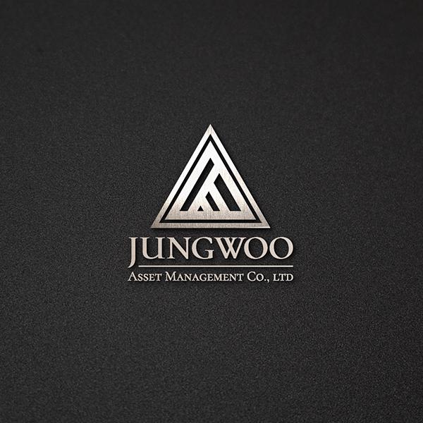 로고 + 명함 | 주식회사정우자산운용의 로... | 라우드소싱 포트폴리오