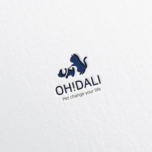 로고 + 간판   OH!DALI   라우드소싱 포트폴리오