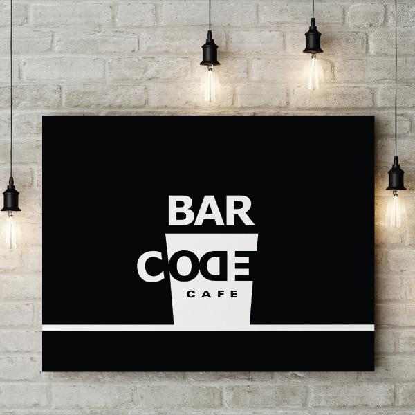 로고 + 간판 | Barcode/바코드 카... | 라우드소싱 포트폴리오