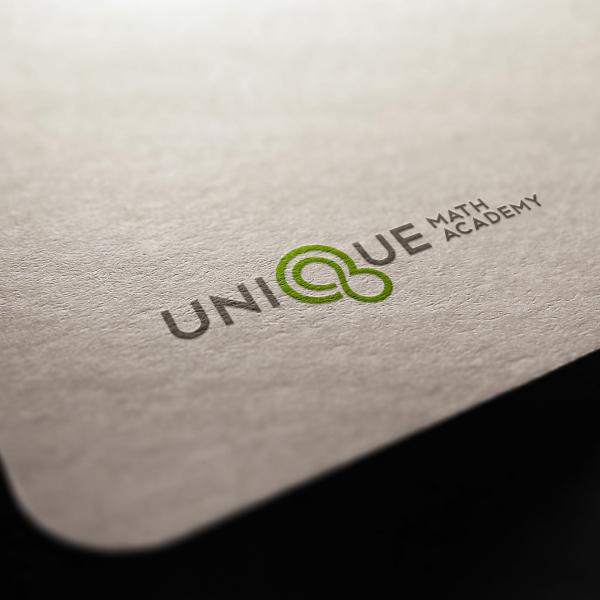 로고 + 간판 | 유니크학원 디자인 의뢰 | 라우드소싱 포트폴리오