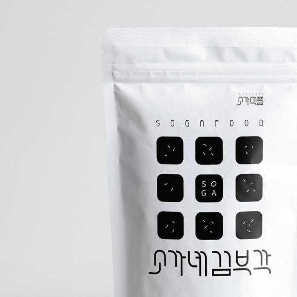 로고 + 간판 | 소가식품(소가네,소가네김... | 라우드소싱 포트폴리오