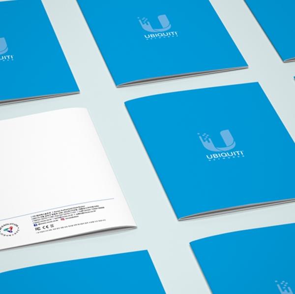 브로셔 / 리플렛 | 유비쿼티(IT 제품), ... | 라우드소싱 포트폴리오