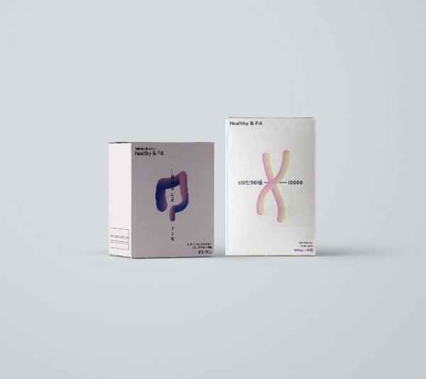 패키지 디자인   헬씨앤핏   라우드소싱 포트폴리오