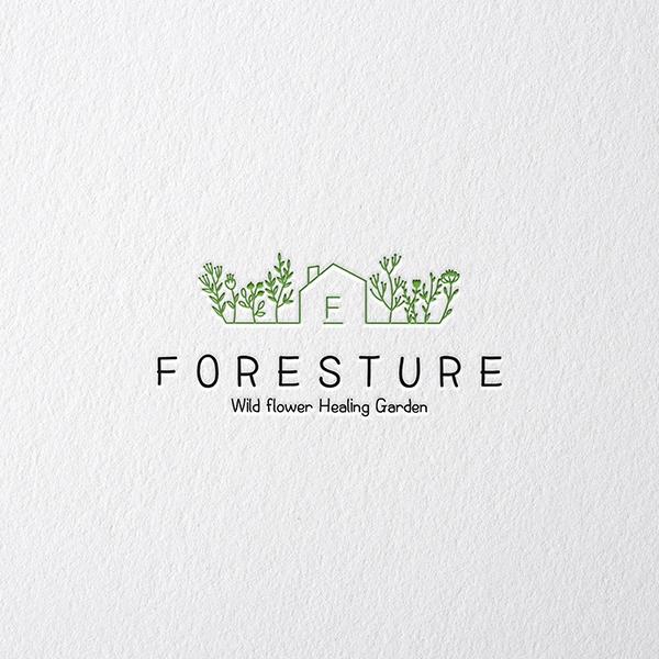 로고 디자인   농업회사법인 (주)포레스처   라우드소싱 포트폴리오