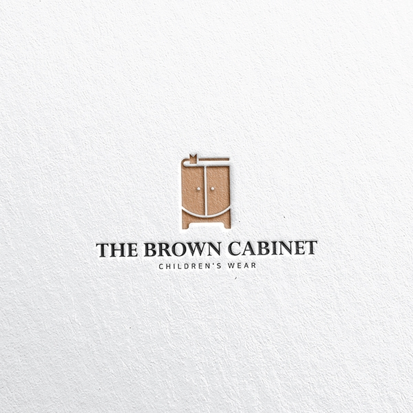 로고 디자인 | THE BROWN CABINE... | 라우드소싱 포트폴리오
