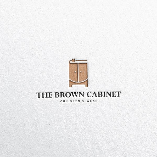 로고 디자인   THE BROWN CABINE...   라우드소싱 포트폴리오