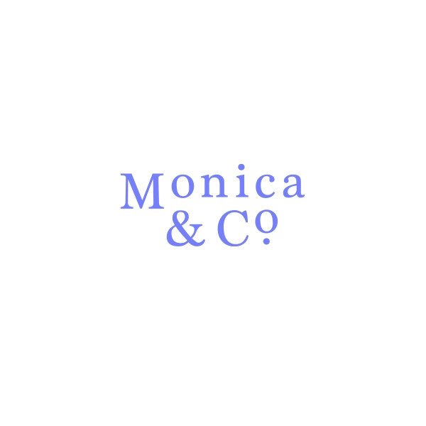 로고 + 명함 | 모니카앤코 로고.명함디자인의뢰 | 라우드소싱 포트폴리오