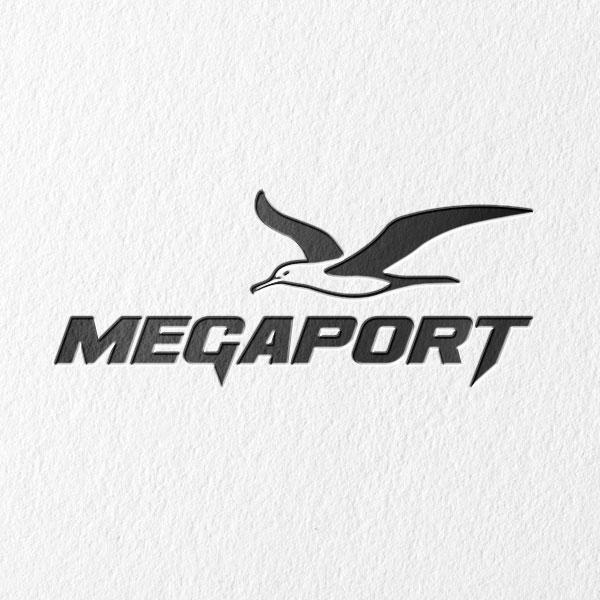 로고 + 명함 | 메가포트 로고 디자인 의뢰 | 라우드소싱 포트폴리오
