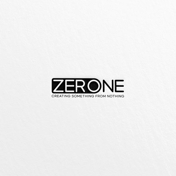 로고 디자인 | Zero one 로고디자인  | 라우드소싱 포트폴리오