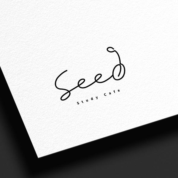 로고 디자인 | 시드 스터디카페 로고 디... | 라우드소싱 포트폴리오