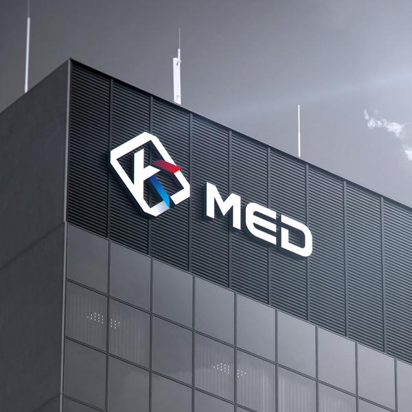 로고 + 명함 | k-med 로고와 명함 ... | 라우드소싱 포트폴리오
