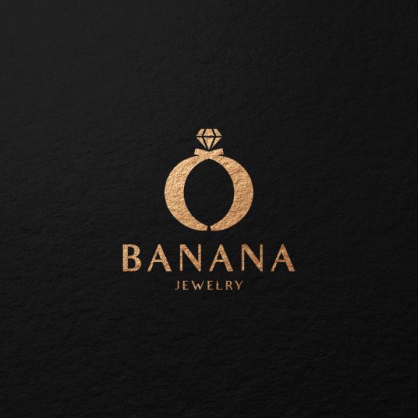 로고 디자인 | 바나나쥬얼리 로고 디자인... | 라우드소싱 포트폴리오