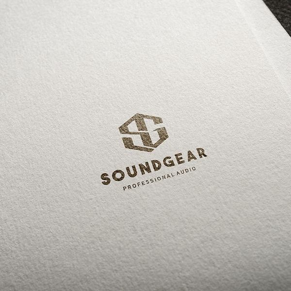 로고 디자인 | 사운드기어 로고 디자인 의뢰 | 라우드소싱 포트폴리오