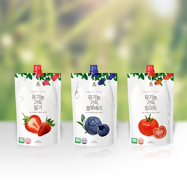 패키지 디자인 | 유기농 음료 패키지 디자... | 라우드소싱 포트폴리오