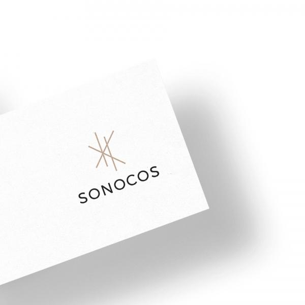 로고 + 명함 | (주)소노코스 로고 및 ... | 라우드소싱 포트폴리오