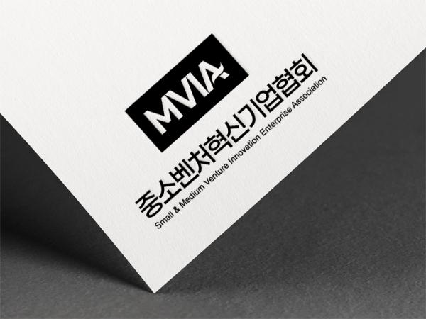 로고 디자인   중소벤처혁신기업협회 로고 제작   라우드소싱 포트폴리오