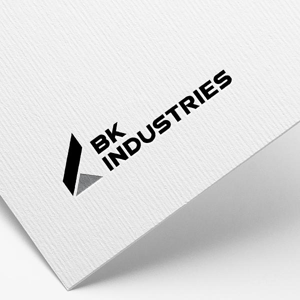 로고 + 명함 | 비케이인더스트리 로고 및... | 라우드소싱 포트폴리오