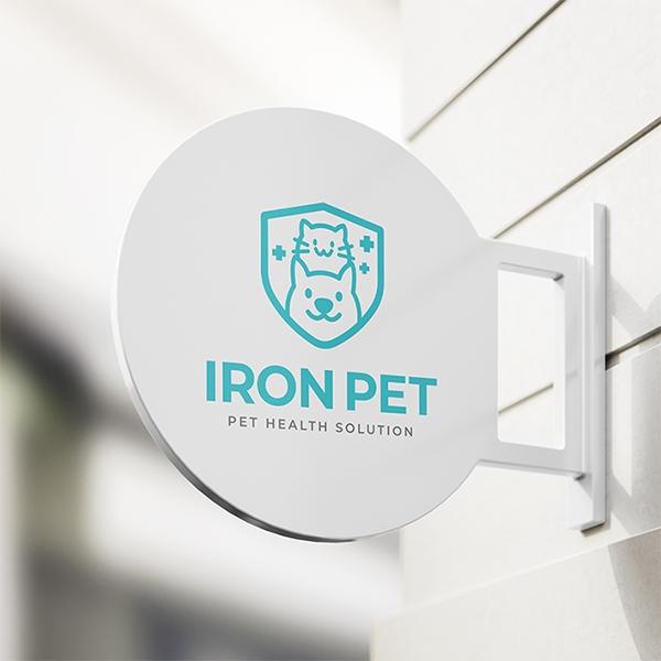 로고 디자인 | 반려동물 서비스 로고 디... | 라우드소싱 포트폴리오