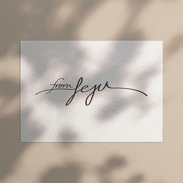 로고 + 명함 | FromJEJU 프롬제주... | 라우드소싱 포트폴리오