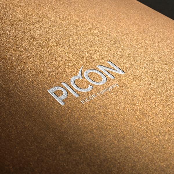 로고 디자인 | PICON 플랫폼 회사 ... | 라우드소싱 포트폴리오