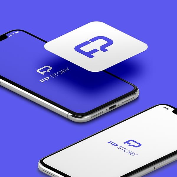 로고 + 명함 | FP 스토리 로고 디자인 | 라우드소싱 포트폴리오