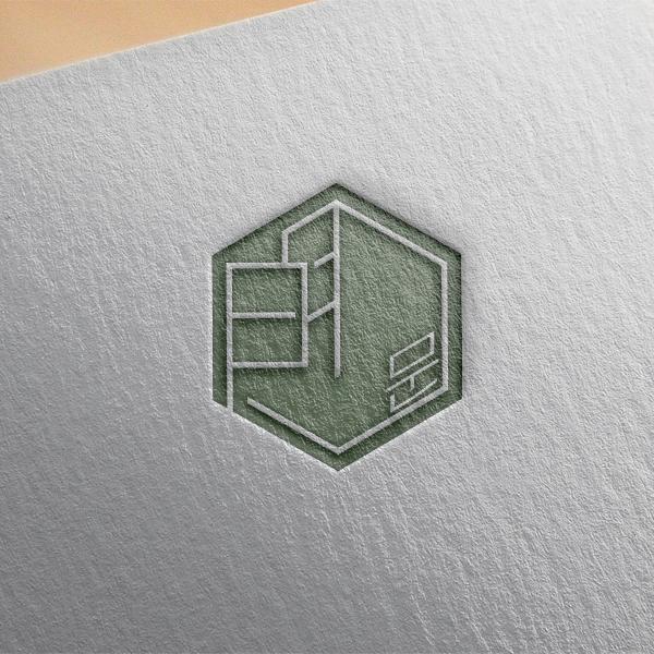 로고 디자인   한옥카페 로고디자인 의뢰   라우드소싱 포트폴리오
