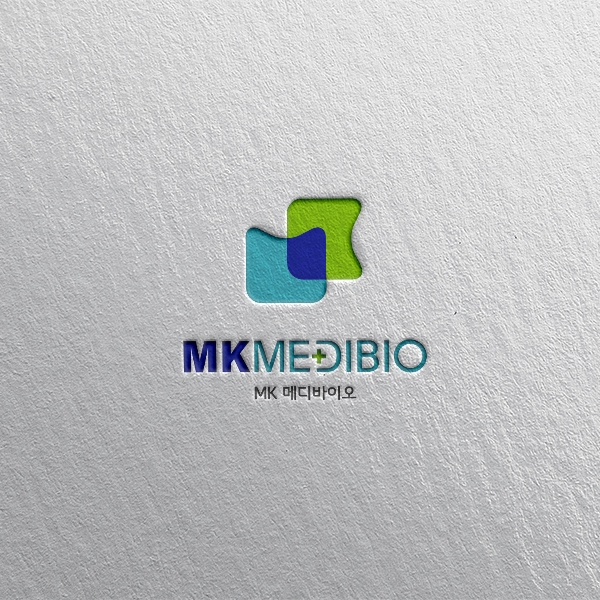 로고 + 명함 | 엠케이메디바이오 기업 로... | 라우드소싱 포트폴리오
