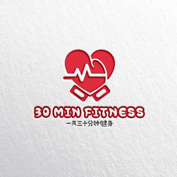 로고 디자인 | 30 MIN FITNES... | 라우드소싱 포트폴리오