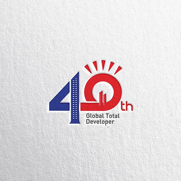 일성건설 창립 40주년 기념 엠블럼 로고 공모전