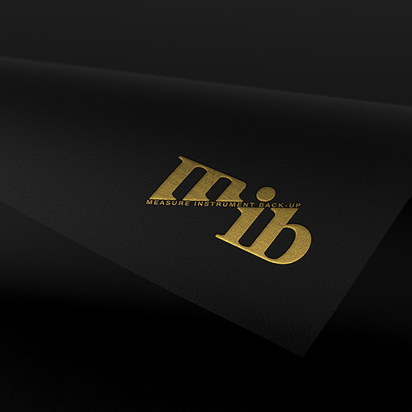 MIB 로그+명함 디자인...