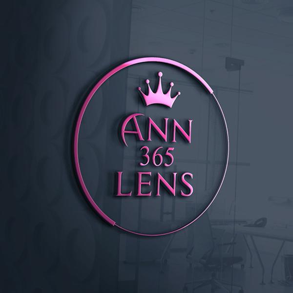 앤365렌즈 로고 디자인 의뢰
