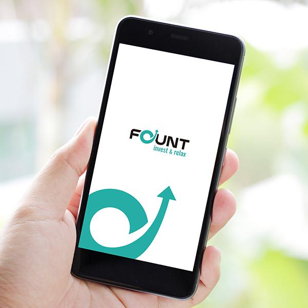 파운트 투자자문 앱 로고...