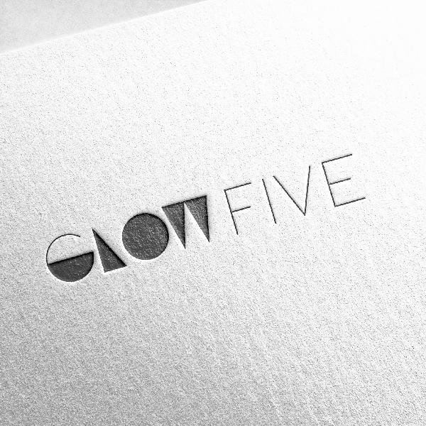 GLOW FIVE 로고 의뢰