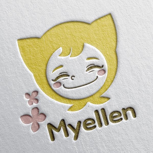 myellen 로고 디자...