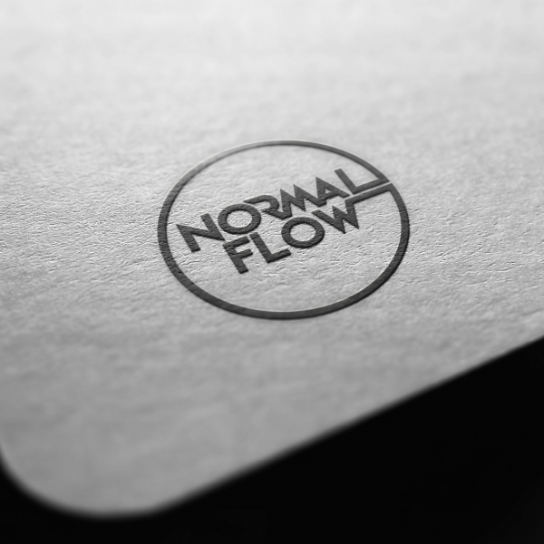 로고 + 간판 | Normal Flow 로... | 라우드소싱 포트폴리오