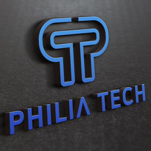 로고 + 명함 | 필리아테크 로고 디자인 의뢰 | 라우드소싱 포트폴리오