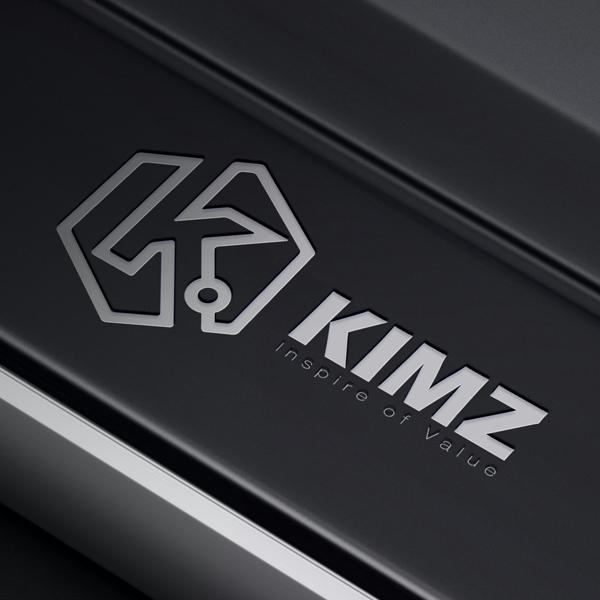 로고 + 명함 | (주)킴즈 로고 디자인 의뢰 | 라우드소싱 포트폴리오