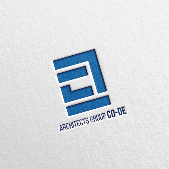 로고 + 명함 | 코드 건축사사무소 로고 ... | 라우드소싱 포트폴리오