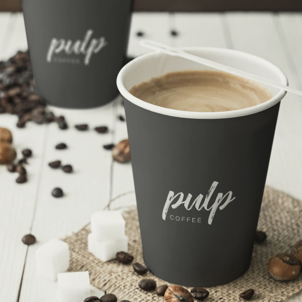 로고 디자인 | 펄프커피(pulp coffee) | 라우드소싱 포트폴리오