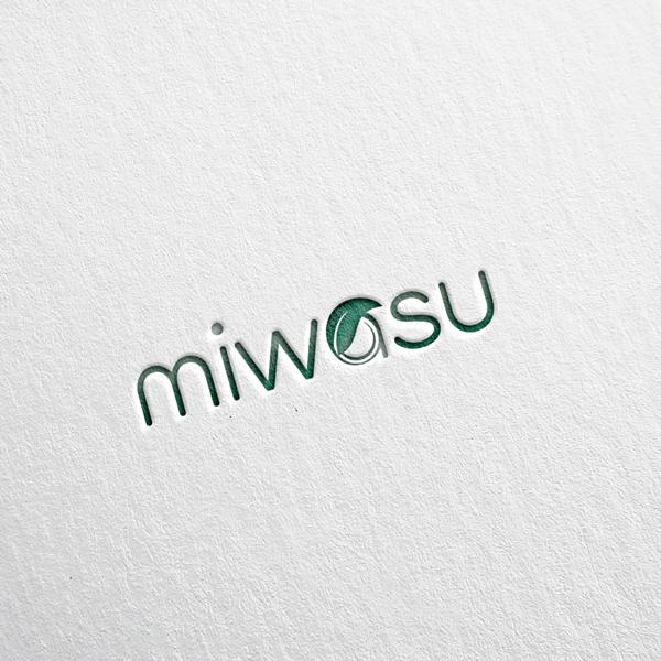 로고 + 명함 | 천연화장품 미와수 로고디... | 라우드소싱 포트폴리오