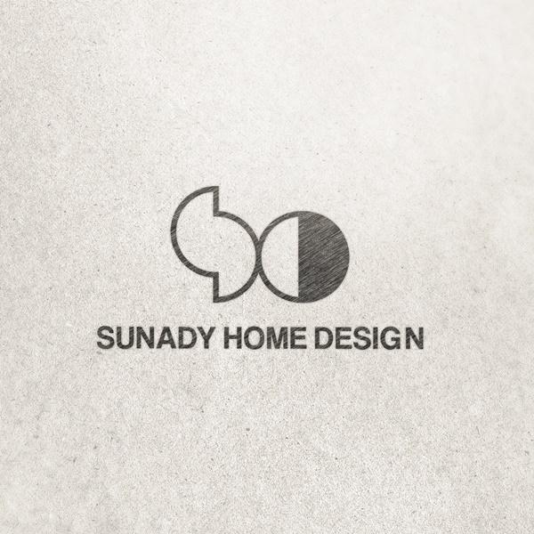 로고 + 명함 | (주)선데이홈디자인  | 라우드소싱 포트폴리오