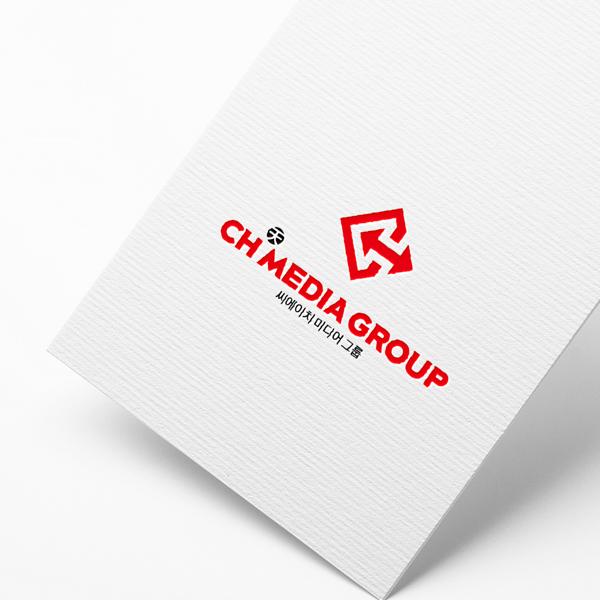 로고 디자인 | CH MEDIA GROUP | 라우드소싱 포트폴리오