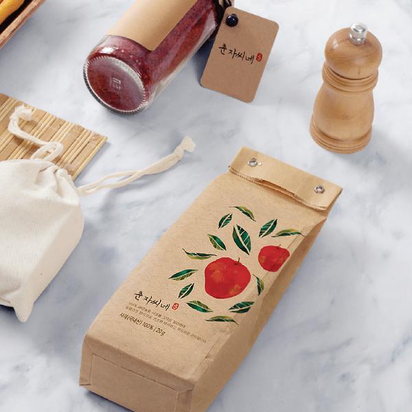 패키지 디자인 | 동결건조 사과칩 포장할 ... | 라우드소싱 포트폴리오
