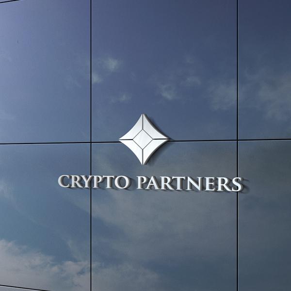 로고 + 명함   Crypto partners    라우드소싱 포트폴리오