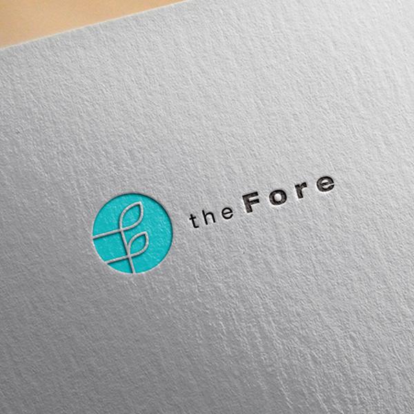 로고 + 명함 | 더 포레 로고 디자인 +... | 라우드소싱 포트폴리오