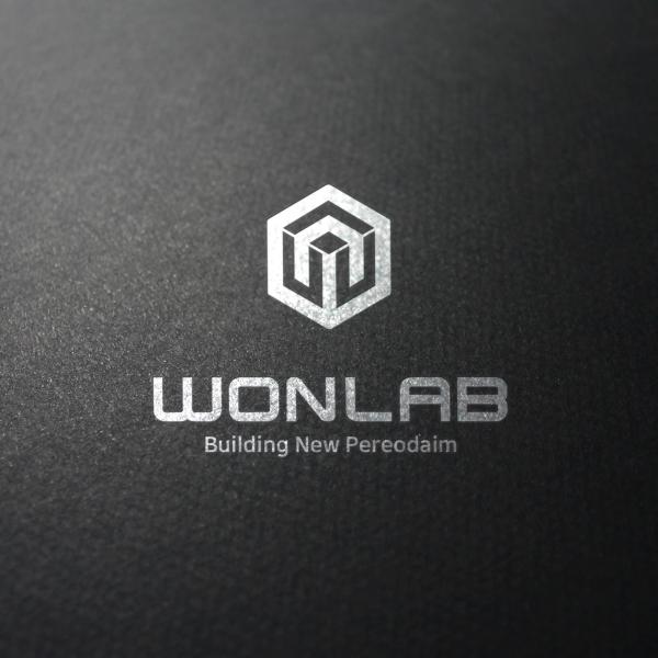 로고 + 명함   원랩   라우드소싱 포트폴리오