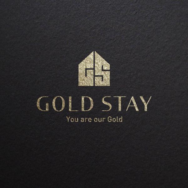 로고 + 명함 | 골드스테이 로고 디자인 의뢰  | 라우드소싱 포트폴리오
