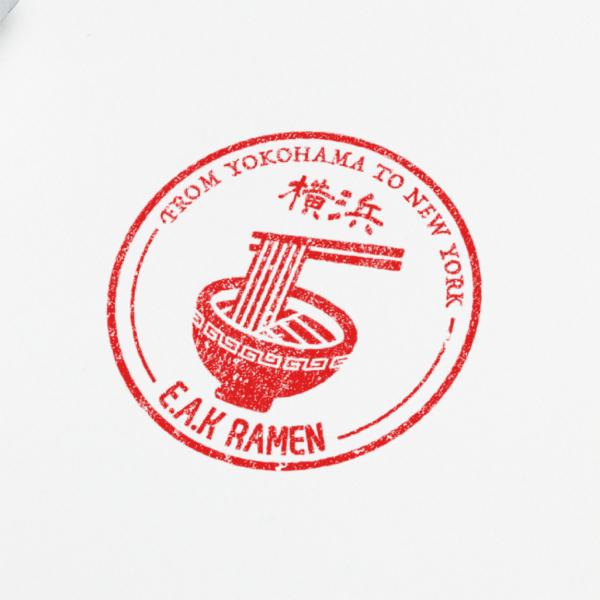 로고 디자인 | 일본라멘집 로고 디자인 의뢰 | 라우드소싱 포트폴리오